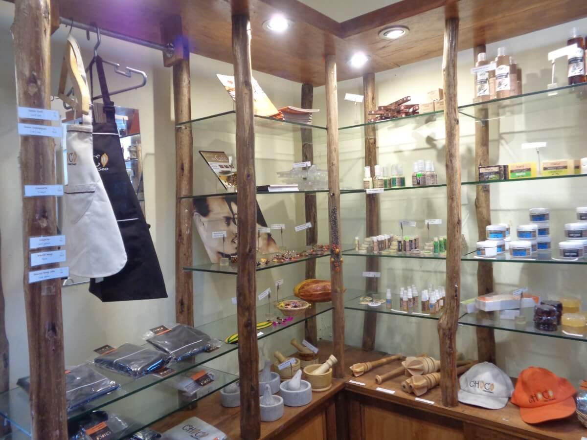 Store at Choco Museo