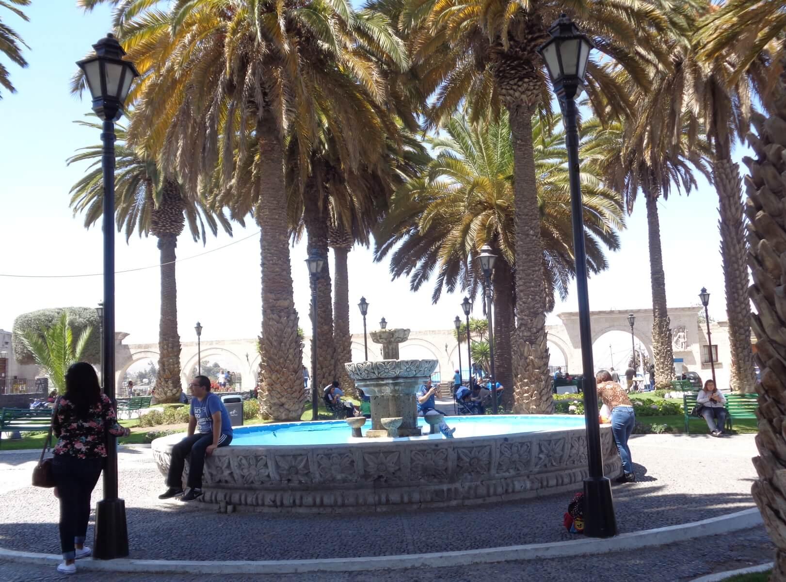 Plaza de Yanahuana - Arequipa