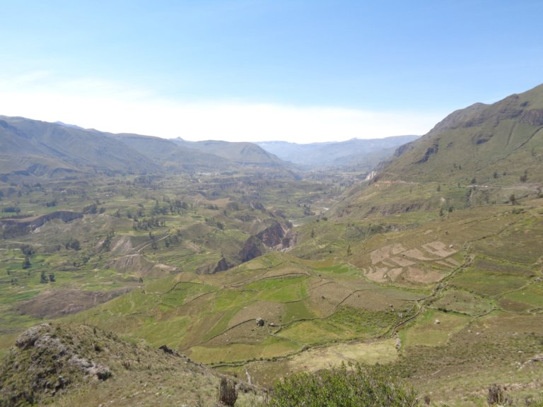 Colca Valley landscape