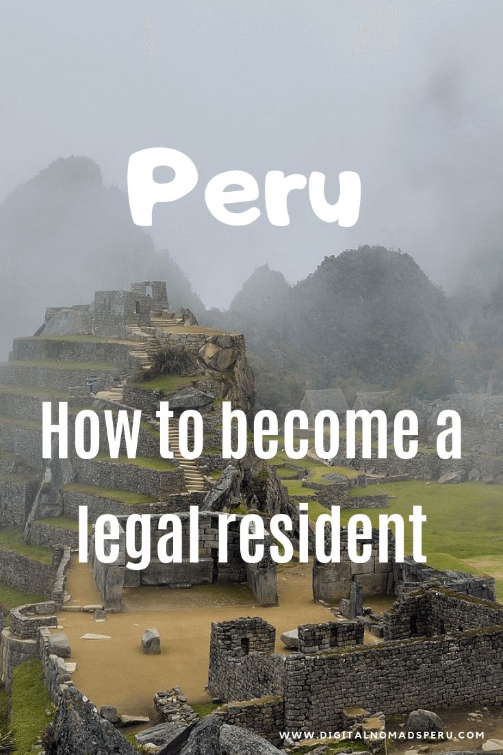How to become a resident in Peru