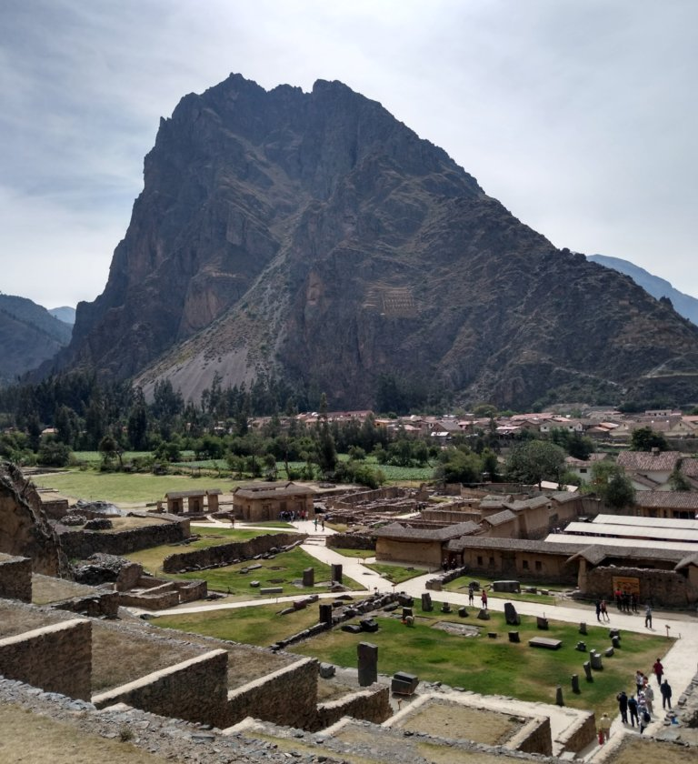Archaeological site of Ollantaytambo