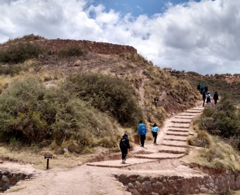 Path Inca Ruins of Moray