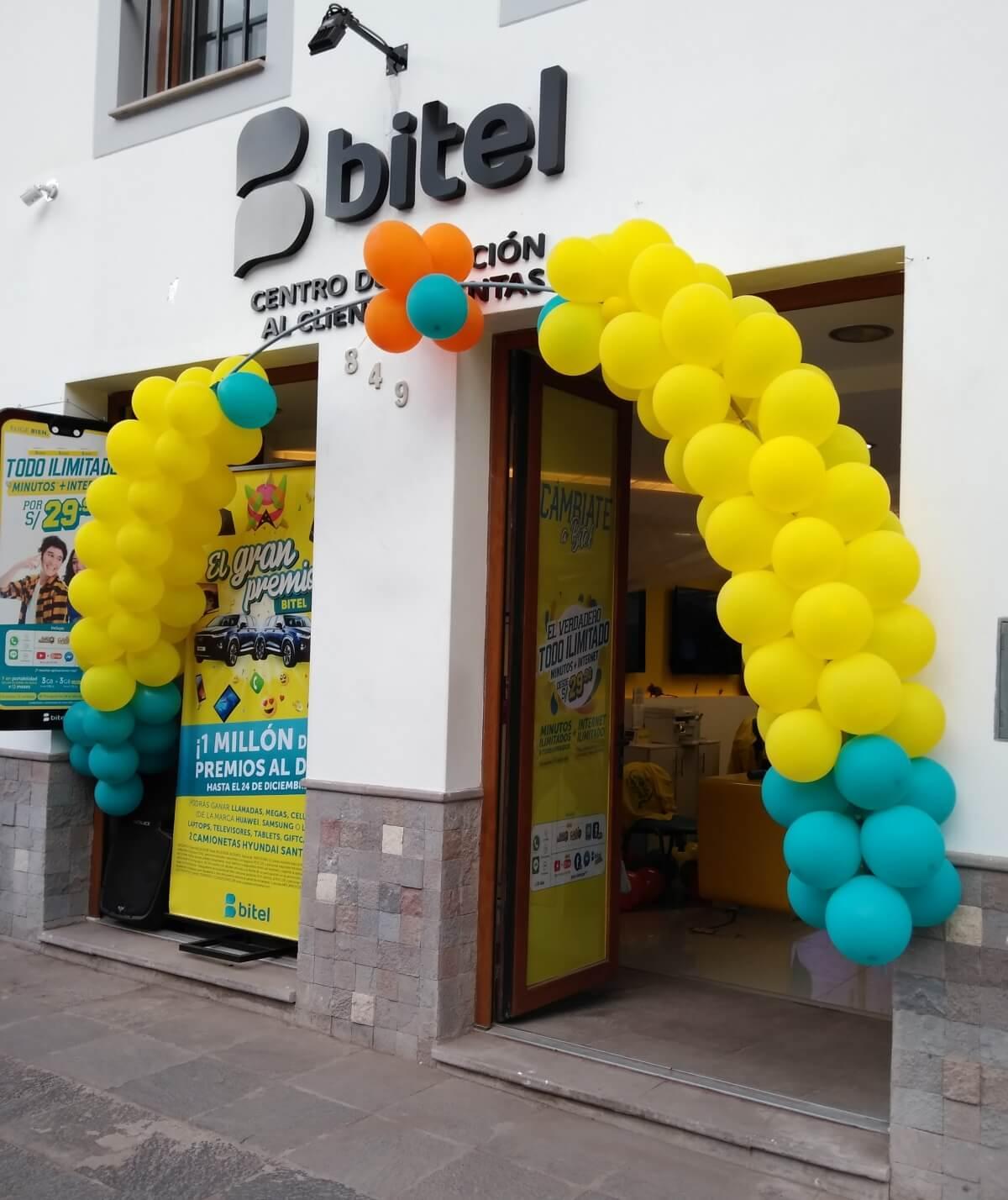 Bitel store in Avenida El Sol