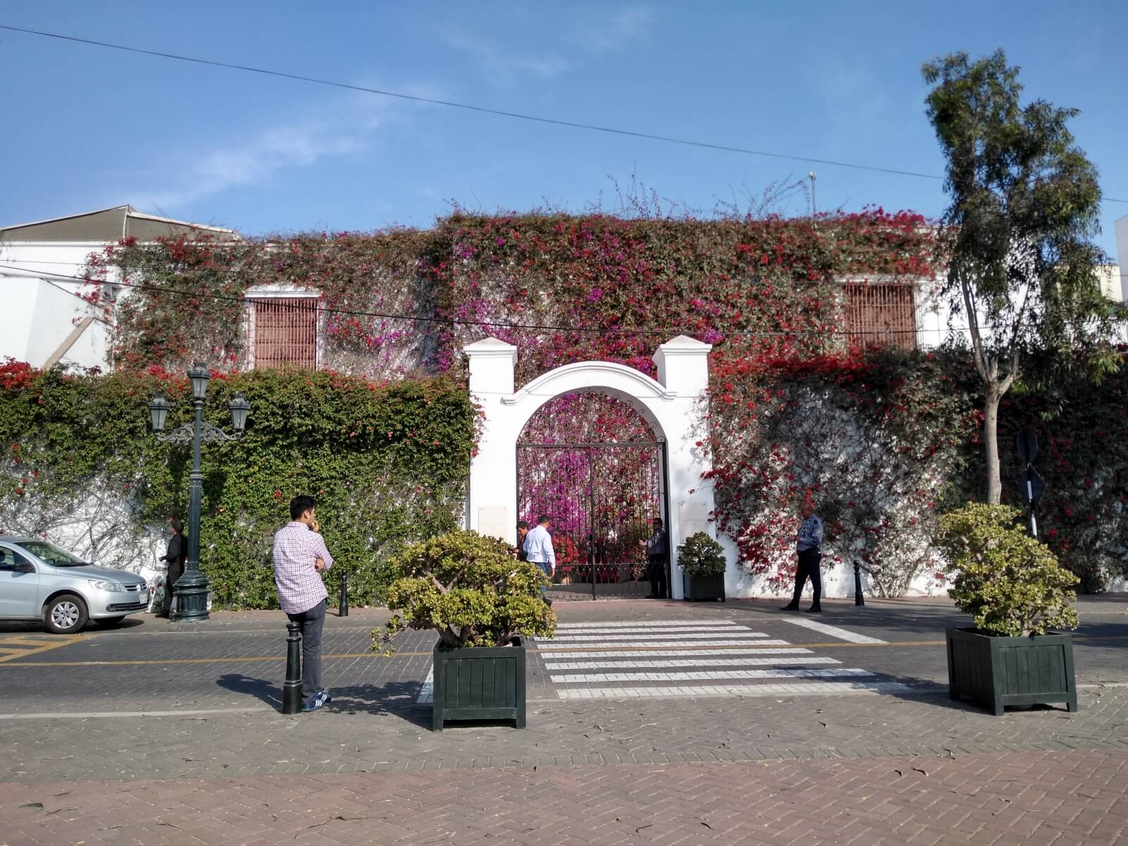 Entrance of the Larco Museum