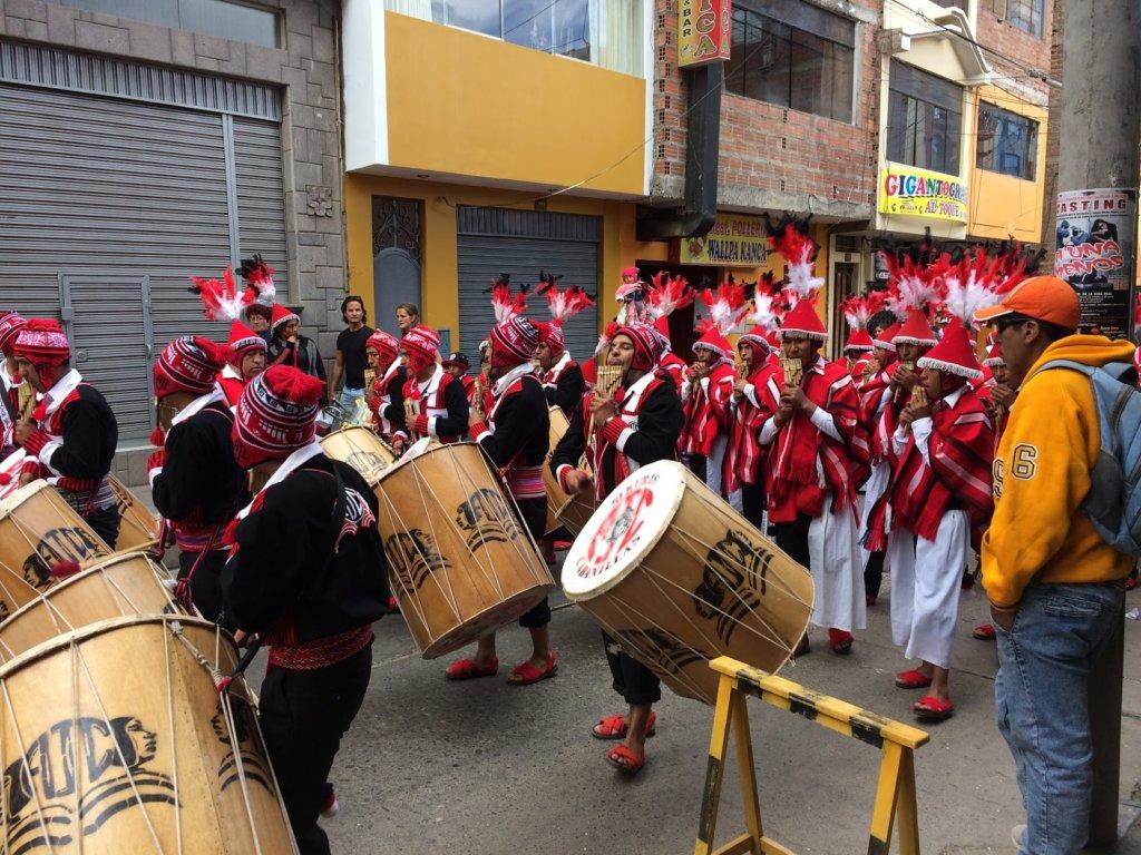 Dancers in Puno