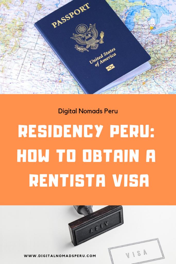 Rentista Visa Peru