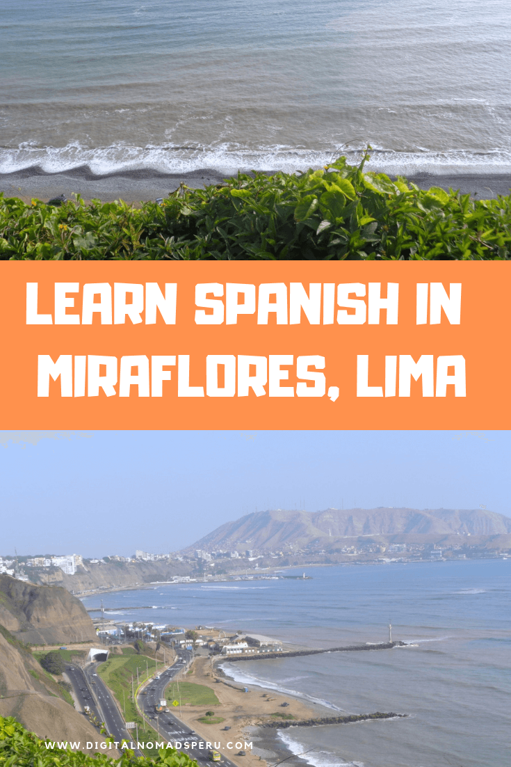 Learn Spanish in Miraflores