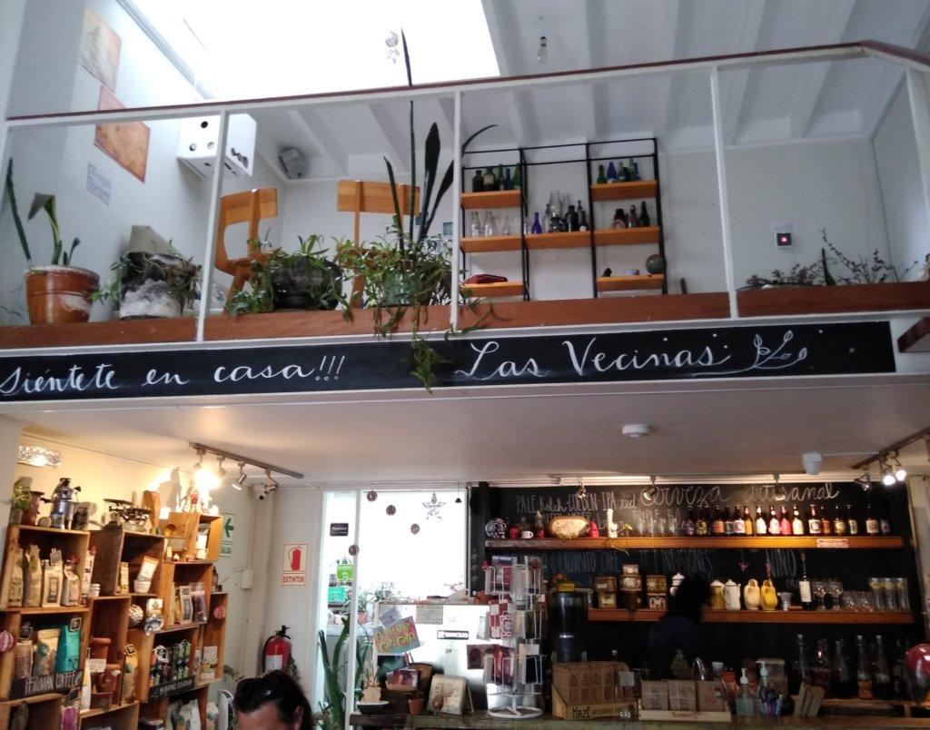 Vegetarian cafes in Lima: Las vecinas