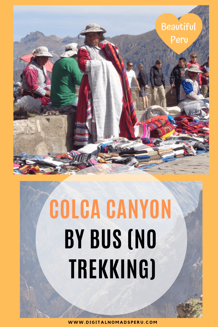 Colca Canyon without Trekking