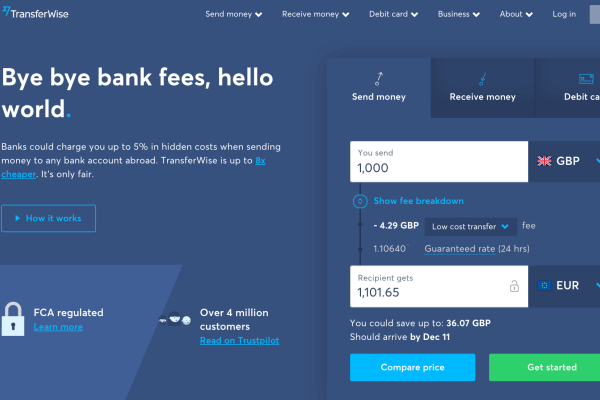 TransferWise Review - What TransferWise is and why you should open your Borderless Account NOW