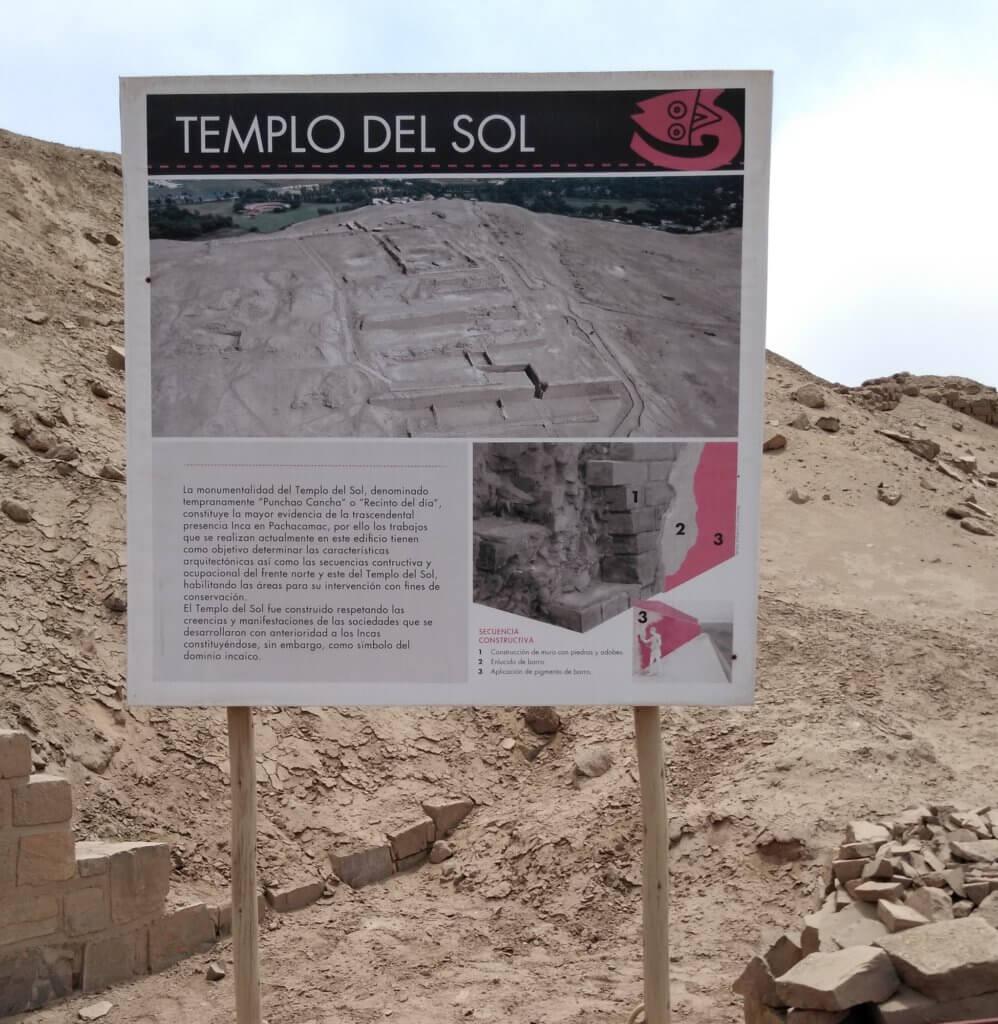 Pachacamac sun temple
