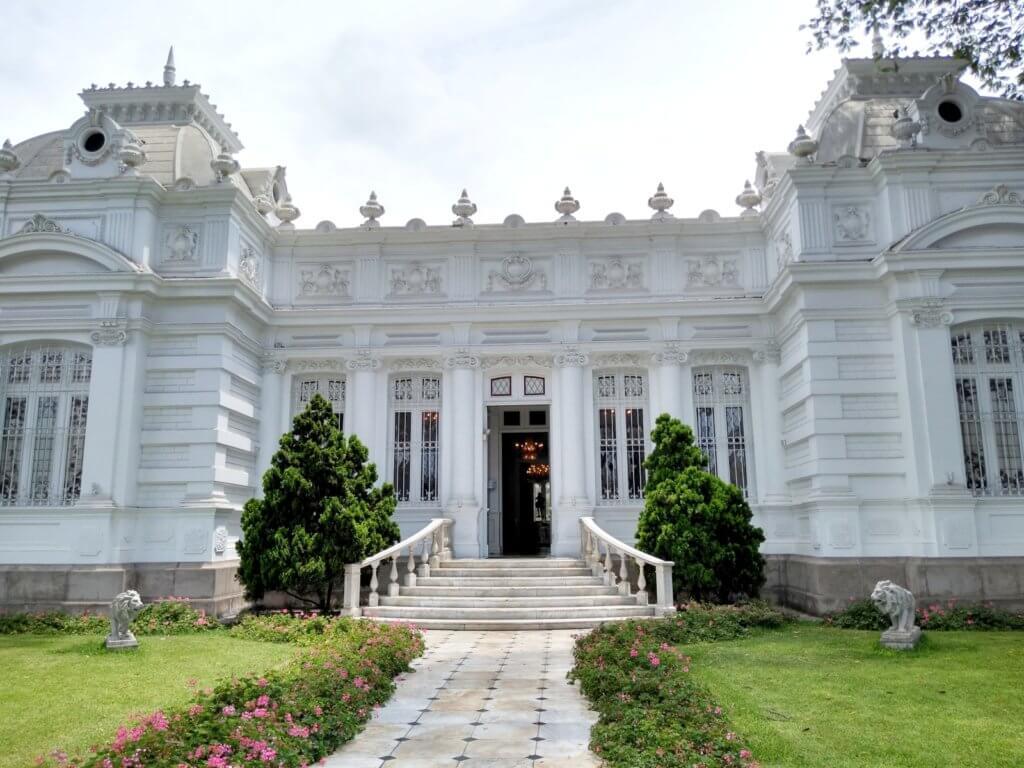Frontside of the Pedro de Osma Museum