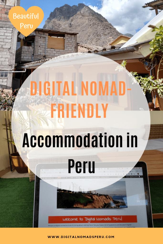 Digital nomad-friendly accommodation in Peru