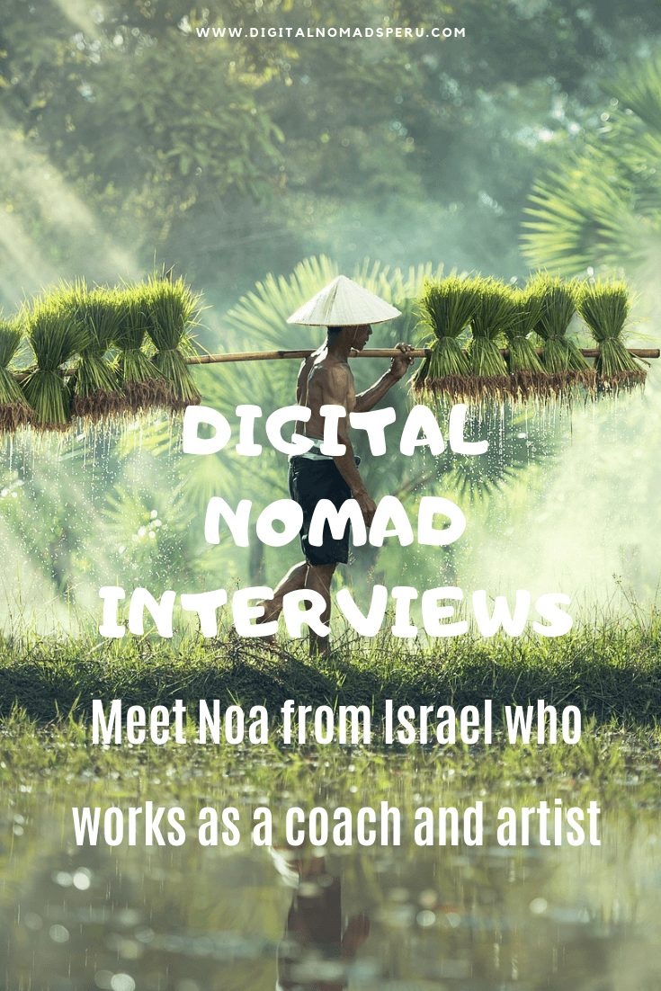 Digital Nomad Interviews - Noa from Israel